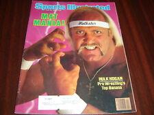 Sports Illustrated magazine Hulk Hogan 1985 wwf wwe tna