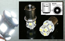 2 lampadine a LED smd Luci di Posizione / Luci posizione bianco BA15s R5W