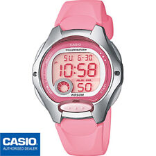 CASIO LW-200-4B*LW-200-4BVEF*ORIGINAL*ROSA*MUJER*NIÑA*SUMERGIBLE*DIGITAL*MINI