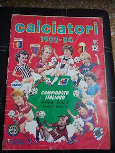 Album Calciatori Panini 1983 1984 - 4 FIGURINE -DA RECUPERO STRAPPI E SCRITTE