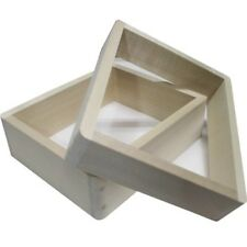 Wooden Frame for Kasutera Cake, with ENG Recipe, Japan