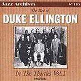 ELLINGTON Duke - In the thirties vol 1 : 1930-1934 - CD Album