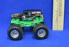 "Hot Wheels "" Grave Digger "" Monster Car Truck Diecast 4x4 Big Wheels Toy"