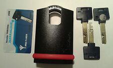 Mul-T-Lock NE14H High Security Padlock Grade 6  Hardened Boron Shackle 14mm