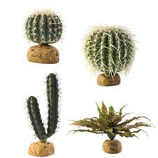 Exo Terra Reptile Realistic Desert Plants Barrel Finger Saguaro Star Jade Cactus