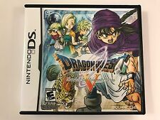 Dragon Quest V Hand of the Heavenly Bride DS - Replacement Case - No Game