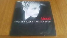 Blood – The New Face Of British Soul Promo CD Single Card Sleeve