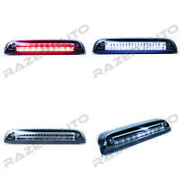 Clear+Black LED 3rd Brake Cargo light Lamp for 14-19 Chevy Silverado+GMC Sierra