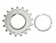Bicycle 17T Track Fix Cog 3/32 Chrome. Fixie Bike Parts (159654)