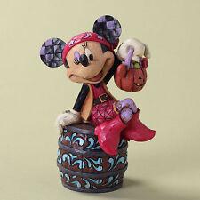 Enesco Jim Shore Heartwood Disney Halloween Pirate Minnie Boo Caneers 4027937