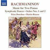 Rachmaninov - Works for Two Pianos, , Very Good CD