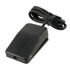 AC 250V 10A SPDT NO NC Antislip Power Foot Pedal Switch Black ED