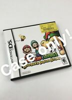Case + Manual Only Mario & Luigi Bowser's Inside Story Nintendo DS, 2009 No Game