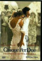 CINQUE PER DUE FRAMMENTI DI VITA AMOROSA (2004) di François Ozon DVD EX NOLEGGIO