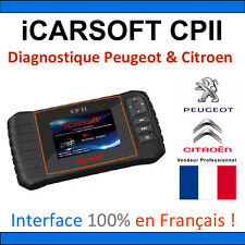 Valise Diagnostique PEUGEOT et CITROEN - iCARSOFT CPII PSA DIAG PP BOX 2000