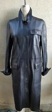 $5,100 Bottega Veneta Designer TOMAS MAIER Ultra Luxe Rainproof Leather Coat