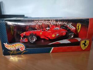 Ferrari F1-2000 Michael Schumacher 1:18 Hot Wheels With Marlboro Branding