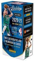 2020-21 ABSOLUTE Panini Basketball HOBBY BOX #13 RANDOM 1-TEAM BREAK Curry AUTO?