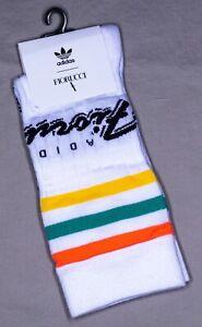 Adidas x Fiorucci Socks 'FL9637'   Size S   Crew Height   2 Pairs   New With Tag