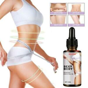 Slimming Losing Weight Essential Oils Thin Leg Waist Fat Burning Pure Natural