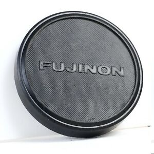 ^ Genuine Fuji Fujinon 70mm Large Format Push On Lens Cap [VG]