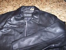 NWOT - NICOLE MILLER NYC - MENS LAMBSKIN LEATHER JACKET - M - EXCELLENT - $400+