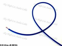 50 ft 12 Gauge AWG Primary / Remote Wire BLUE Sky High Car Audio Lead Ga Feet