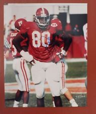 New listing ERIC CURRY  SIGNED ALABAMA FOOTBALL 8X10 PHOTO - MAKE AN OFFER!!
