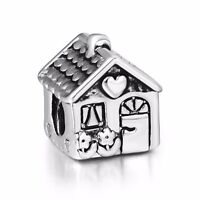 Sweet Home Design Fashion 925 Sterling Silver European Bead Charms Fit Bracelet