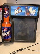 Large 28� Tall 3D Lebatt Blue Beer Lighted Sign Mancave Bar Beer Brewery
