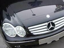 Mercedes W209 C209 A209 CLK Coupe Cabriolet Chrome Headlamp Headlight Rings Set
