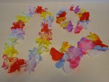 ~6 HULA Sets FLOWER BRACELETS,LEI,HEAD BAND~LUAU PARTY