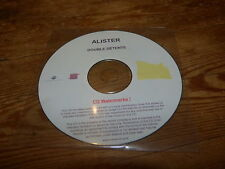 ALISTER - DOUBLE DETENTE !!!!!!!!!!!!! FRENCH PROMO CD !!!!!!!!!!!