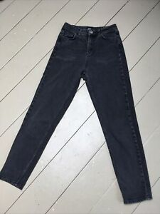 """Urban Outfitters, BDG, Faded Black Denim Mom Jeans, W26"""" Size 8"""