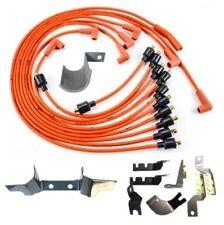 22-pc mopar script spark plug wire & bracket set for 1972-1976 b-body  big-block (fits: plymouth barracuda)
