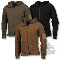 TACTICAL FLEECE HOODIE MILITARY SPECIAL FORCES JACKET POLICE SECURITY RECON