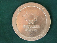 The Mint Casino Del Webb Hotels $1.00 Gaming Token 1979 Las Vegas Nevada - EB78