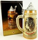 Budweiser Anheuser Busch Beer Stein Tomorrows Treasures Brewing Fermenting NEW