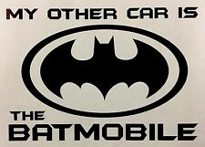 BATMAN FUNNY car van window sticker JDM DRIFT VW FORD STANCE BMW VINYL DECALS