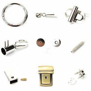 Ersatzteile für Handtaschen - Bastelbedarf Gurt Henkel Griff Karabiner Ring