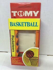 Tomy Palitoy BASKET Gioco Tascabile Pocket Machine Pocketeers Vintage MIB