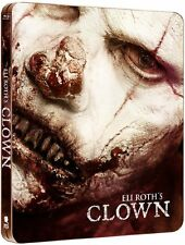 Eli Roth - CLOWN ( UNCUT ) blu ray Steelbook ( NEW )