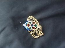 Fish Brooch Enamel Custume Jewellery NEW