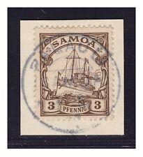Samoa °  Palauli  20.6.07  Luxus  Briefstück  Minr. 7    ex Zistl