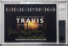 Travis Walton Signed 'Travis Walton The Movie' Postcard *True Story BAS Beckett