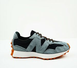 New NEW BALANCE Mens Size 11.5  327 Sneakers in Black / Slate
