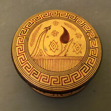 Antique Egyptian Revival Ceramic Geometric Period 700 B.C. Copy Trinket Box