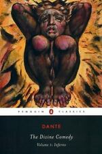 Divine Comedy Volume 1 Inferno by Dante Alighieri PAPERBACK Mark Musa