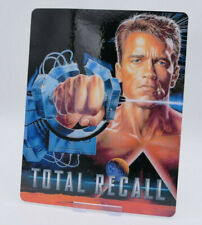 TOTAL RECALL - Glossy Bluray Steelbook Magnet Cover (NOT LENTICULAR)