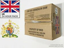 United Kingdom Military ration Box. militaire ration - 24 h - (British MRE)